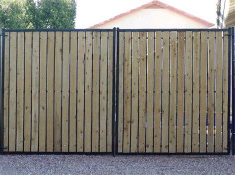 rv fence faulkner fence company 602 739 1919 arizona custom rv gates and fences