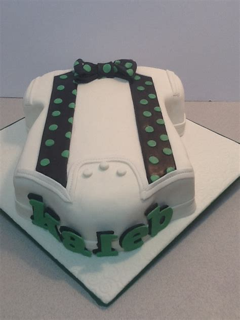Bow Tie Baby Shower Cake by 301 Moved Permanently