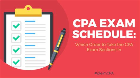 cpa exam which section to take first cpa exam blog gleim cpa review
