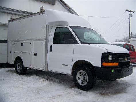 2006 chevrolet express g2500 spartan work mr goodbody