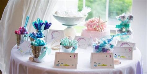 Kara's Party Ideas Whimsical Mermaid Party Planning Ideas