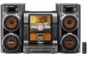 sony muteki 560 watts hi fi stereo shelf audio system with