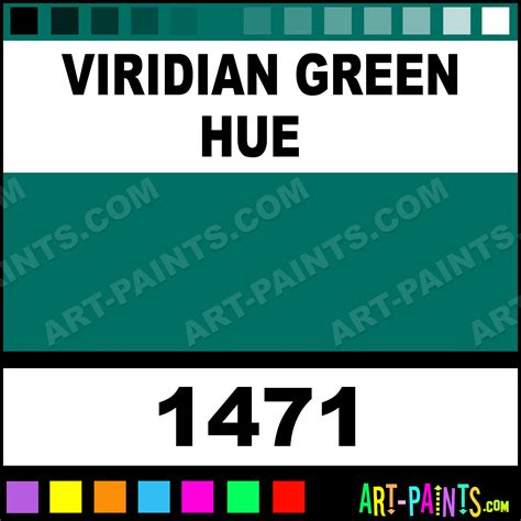 viridian green hue historic acrylic paints 1471 viridian green hue paint viridian green hue