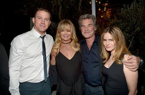 christopher russell and kurt russell goldie hawn photos photos the world premiere of the