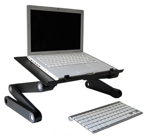 Laptop On A Desk Articulating Laptop Stand Stayfithk