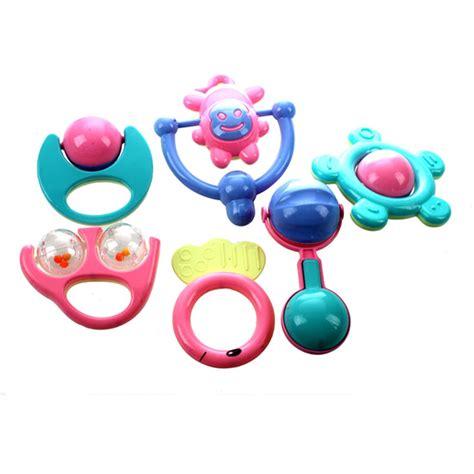 Special Baby Playset Rattle 7 Pcs 6pcs animal handbells developmental bed bells baby toys rattle lov m2d7 190268643429 ebay