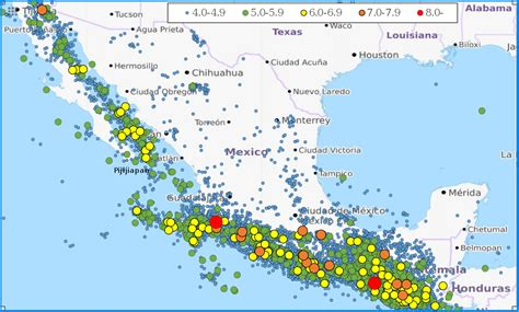 geography of mexico wikipedia list of earthquakes in mexico wikipedia