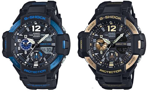 G Shock Gshock Gg 1100 Black Gold new gravitymasters blue ga 1100 2b and gold ga 1100 9g