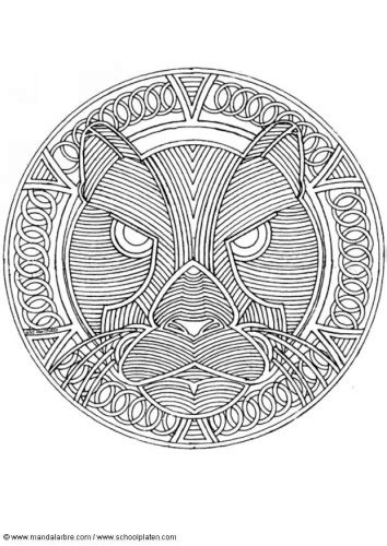 tiger mandala coloring pages tiger mandala doodles coloring pages