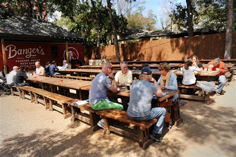 sausage house review banger s sausage house beer garden food the austin chronicle