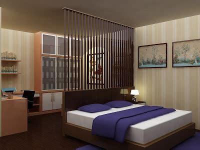 Master Bedroom And Home Office Interior Home Master Bedroom Office Room Interior