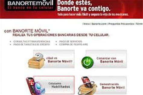 banco en linea banorte banorte por internet consulta de saldo opcionis blog