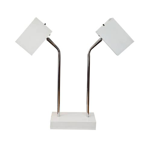 Desk Lamp Head Robert Sonneman Double Head Desk Lamp For George Kovacs At