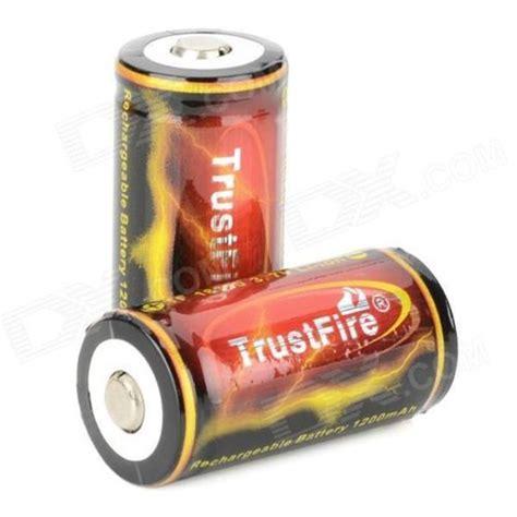Trustfire 18350 Li Ion Battery 1200mah 3 7v Rechargeable Black 1 trustfire 18350 1200mah 3 7v li ion lithium