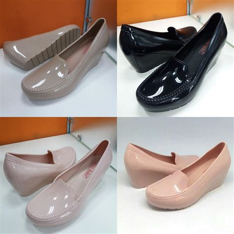 Wedges Salur Jelly Bara Bara by Sepatu Wanita Wedges Jelly Shoes Bara Bara Elevenia