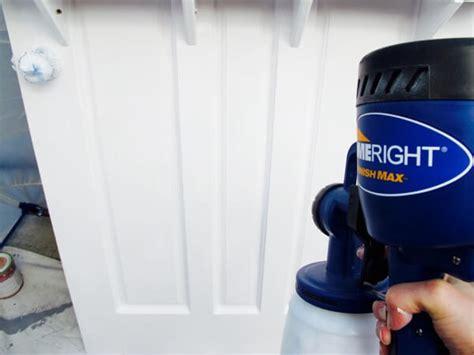 finish max paint sprayer door door turned into a door with benefits homejelly