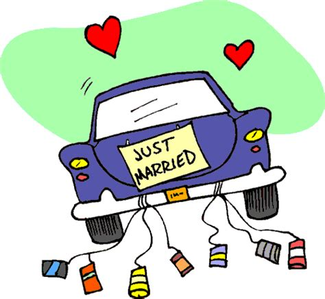 Just Married Auto Clipart Kostenlos by Just Married Clip Art Download