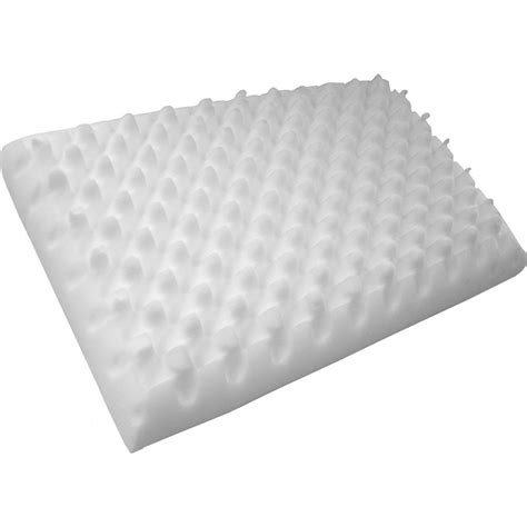 egg crate for bed egg crate foam pillow in bed pillows