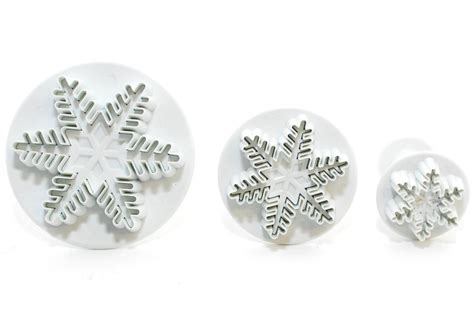 Plunger Cutter Snowflake snowflake plunger cutters sweet success products