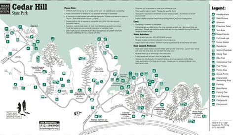 map of cedar hill cedar hill state park maplets
