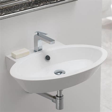 lavelli per bagno sospesi lavabi sospesi 187 vendita on line scarabeo ceramiche