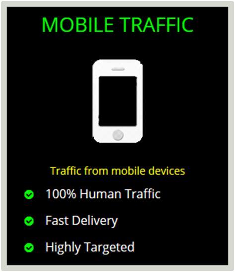 mobile traffic buy mobile traffic targeted mobile traffic mobile