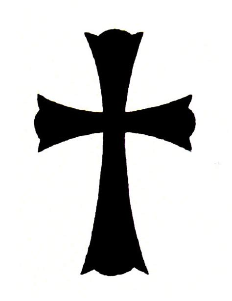 solid black cross free design ideas