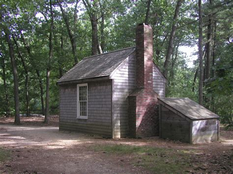 Walden Pond Cabin by Everyone Outdoors Take A Walk At Walden Pond On August 26