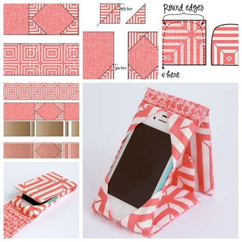 how to do a sew in to cover shaved sides wonderful diy sewing ipad phone case stand