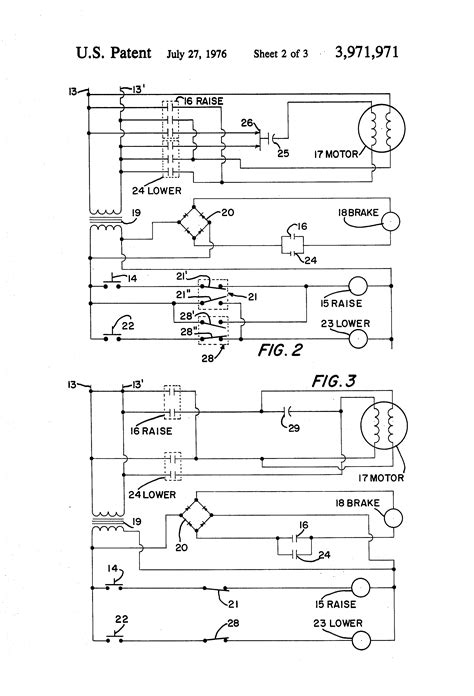 demag hoist wiring diagram patent us3971971 electric hoist and braking