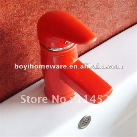 red kitchen faucet red colored ceramic tap antique kitchen faucet unique kitchen faucet kitchen sink faucet 24sets