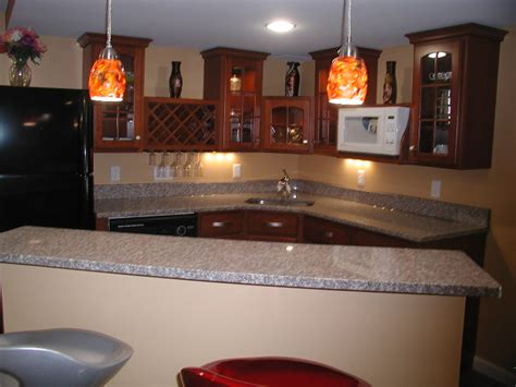 St Louis Kitchen Cabinets by The Keys To St Louis Basement Wetbar Design St Louis