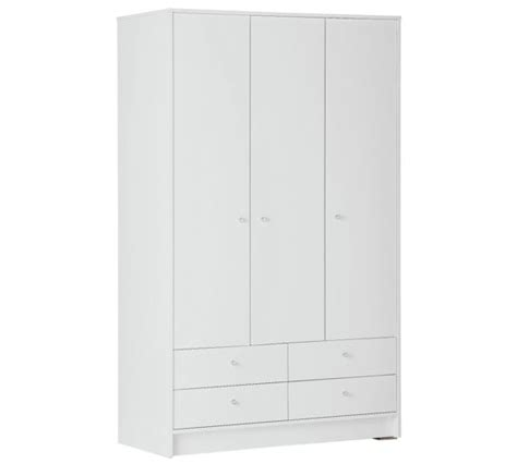 3 Door Wardrobe Argos by Buy Home New Malibu 3 Door 4 Drawer Wardrobe White At