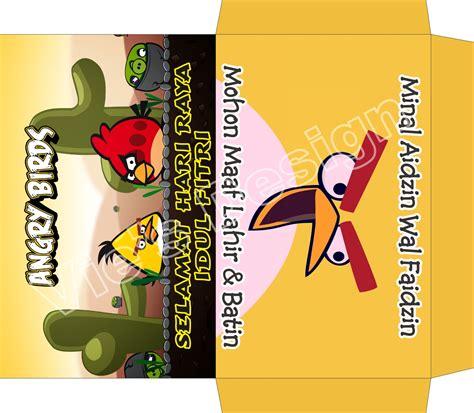 desain gambar spongebob nyonya hijau desain amplop lebaran kartun