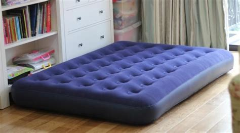 you put an air mattress on a bed frame