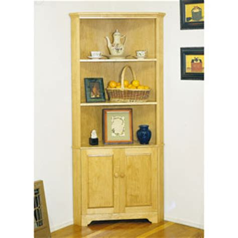corner cabinet plan woodworking plans