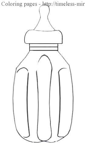 coloring page water bottle hot water bottle coloring pages