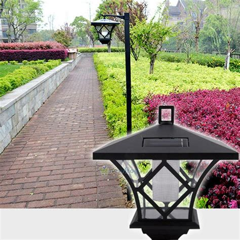 Solar Garden L Post Lights by Solar Led Traditional Landscape Path Lights Outdoor Garden