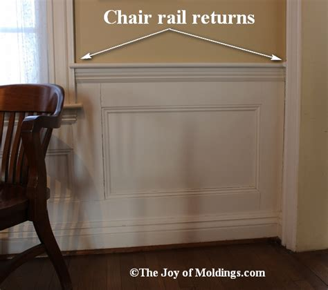 Wainscoting Top Rail Wainscoting Door Hallway With Chair Rail Specialty Door