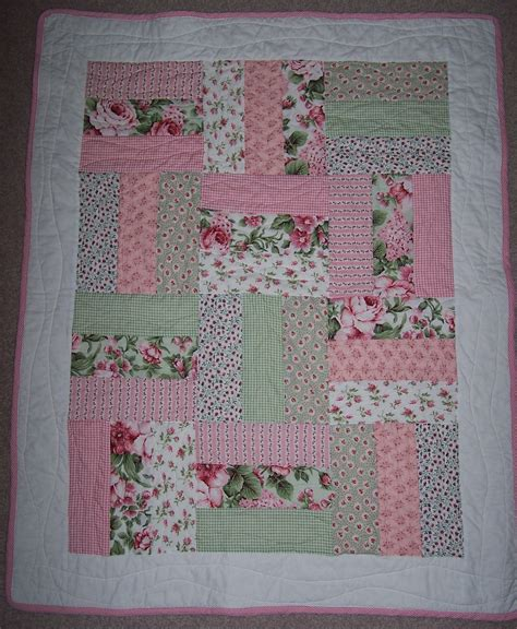 Cot Patchwork Quilt Patterns - baby quilts and easy cot quilt linny j creations