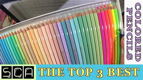 what is the best colored pencil for coloring books the top 3 best colored pencils in the world