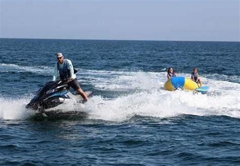 destin boat rides destin banana boat rides tripshock