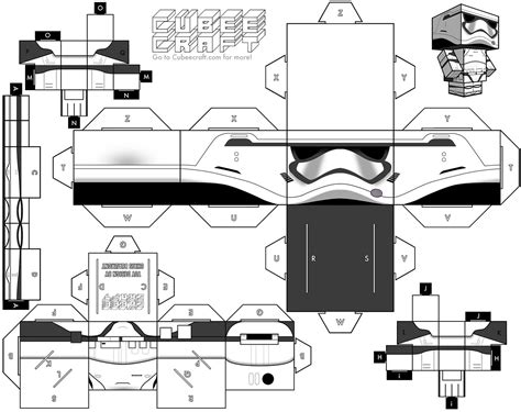 stormtrooper the awakens cubeecraft cubeecraft