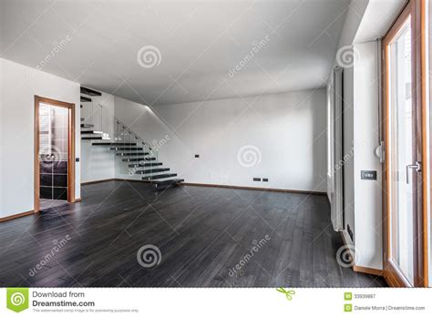 Home Interior Design Photos Free Download modern empty interior with dark parquet and staircase