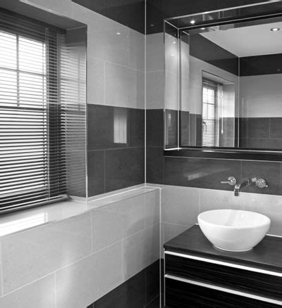 black and gray bathroom black and grey bathrooms 2017 grasscloth wallpaper