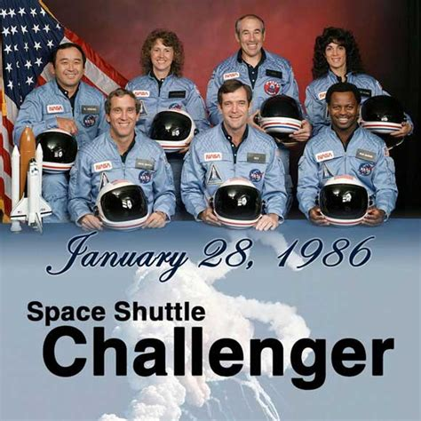 where is the challenger remembering the crew from the challenger
