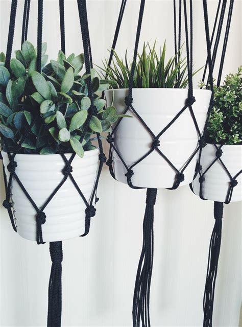 macrame plant hanger hanging planter hanging plants