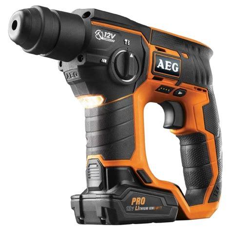 aeg 12v li ion sds rotary hammer bbh12li cordless