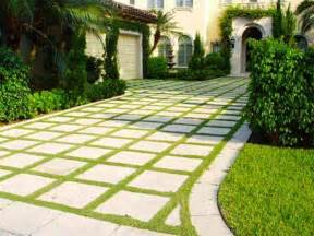 Backyard Driveway Ideas Small Front Yard Landscaping Ideas With Circular Driveway And White Footpath As Well As Backyard