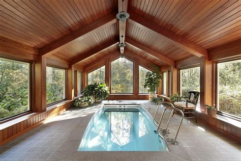 enclosed pools 45 screened in covered and indoor pool designs